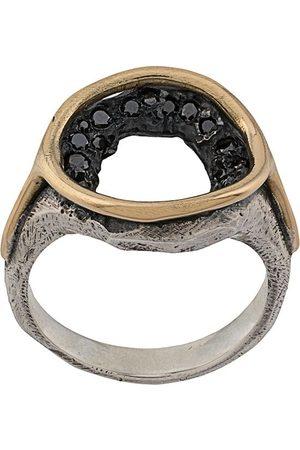 Tobias Wistisen Men Rings - Crystal-embellished round ring