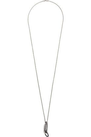 Tobias Wistisen Layered pendant chain necklace