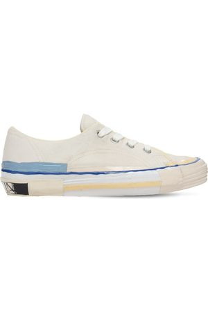 Lanvin Melted Low Top Vulcanized Sneakers