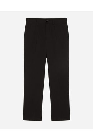 Dolce & Gabbana Trousers and Shorts - STRETCH WOOL PANTS male 4