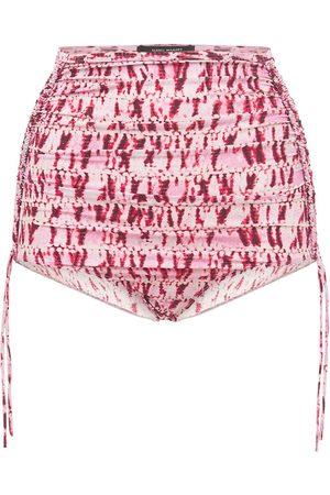 Isabel Marant Nelaris High Rise Printed Bikini Bottoms