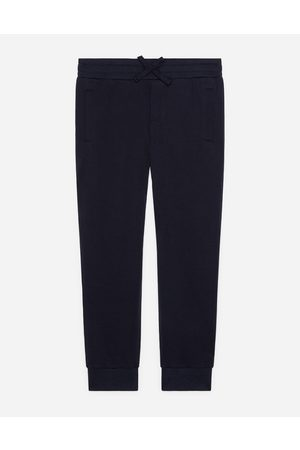 Dolce & Gabbana Trousers and Shorts - JERSEY JOGGING PANTS WITH PLATE LOGO male 2