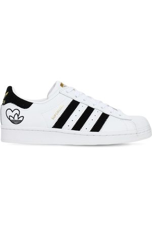 adidas Valentines Superstar Leather Sneakers