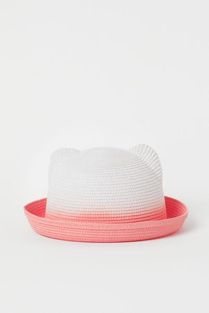 H & M Ear-topped straw hat