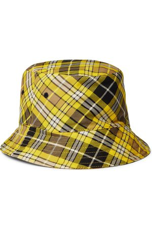 Burberry Men Hats - Reversible Checked Wool-Blend Twill Bucket Hat