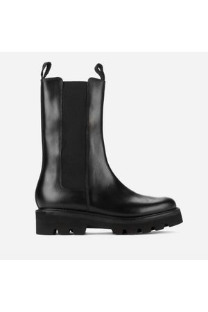 Women Chelsea Boots - Grenson Women's Doris Leather Chelsea Boots