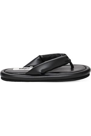 MM6 MAISON MARGIELA 10mm Padded Faux Leather Flip Flops
