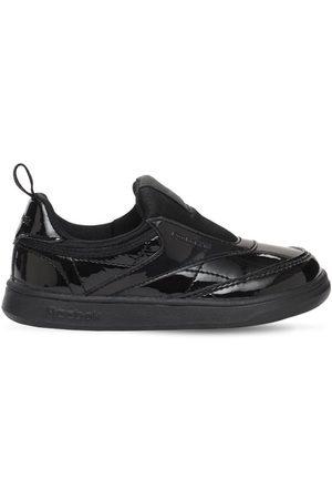 Reebok Boys Trainers - Patent Club C Slip-on Sneakers