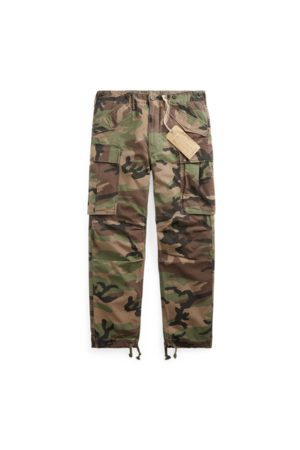 RRL Men Trousers - Camo Ripstop Cargo Trouser