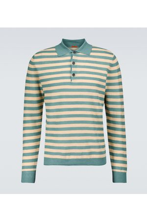 BARENA Remador Filino striped polo