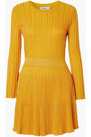 CASASOLA Women Knitted Dresses - Woman Ribbed-knit Mini Dress Size 36