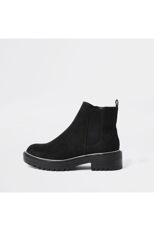 River Island Womens wide fit chunky heel boots