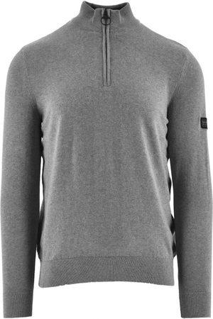 Barbour Men Sweatshirts - International Cotton Half-Zip Sweatshirt