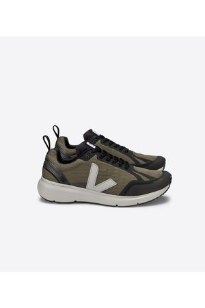 Veja Condor 2 Running Trainers - Kaki/Oxford Grey/Black