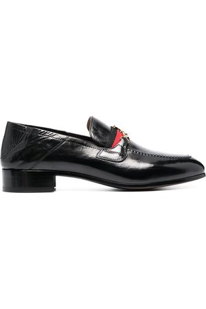Vivienne Westwood Orb-detail leather loafers