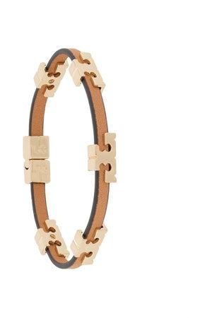 Tory Burch Serif-T bracelet - Neutrals