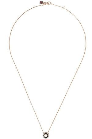 Selim Mouzannar 18kt rose diamond Mina necklace