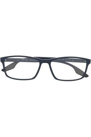 Prada Men Sunglasses - Linea Rossa rectangle-frame glasses