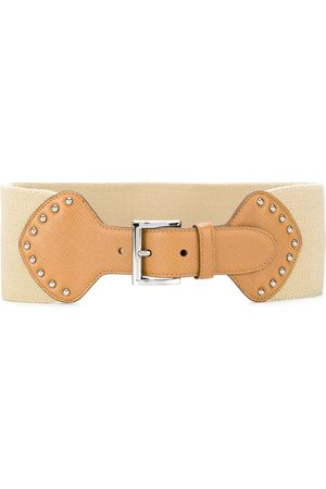Prada Buckled waist belt - Neutrals