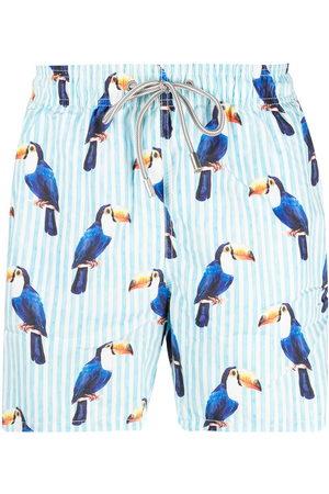Mc2 Saint Barth Toucan-print swim shorts