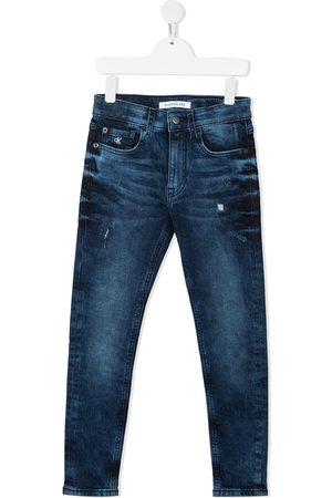 Calvin Klein Girls Slim - Slim-fit jeans