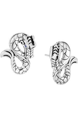 John Hardy Legends Naga sapphire stud earrings