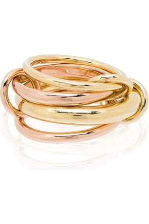 Spinelli Kilcollin Rain 18kt yellow and rose linked ring