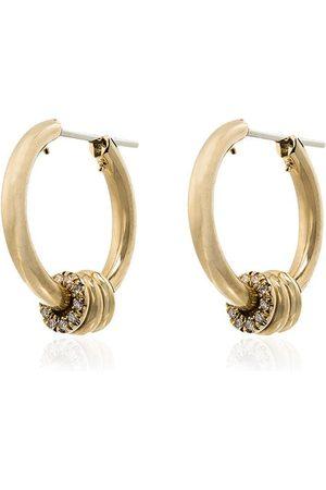 Spinelli Kilcollin 18kt yellow gold Ara diamond hoop earrings - METALLIC