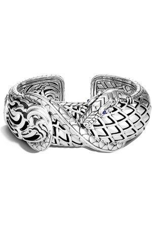 John Hardy Women Bracelets - Legends Naga medium kick sapphire cuff bracelet
