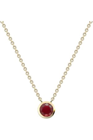 Pragnell 18kt yellow diamond ruby Sundance necklace