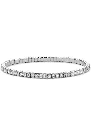 Pragnell 18kt white gold expandable diamond bracelet