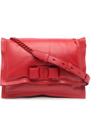 Salvatore Ferragamo Viva Bow leather shoulder bag