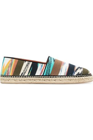 Missoni Mixed-print espadrilles
