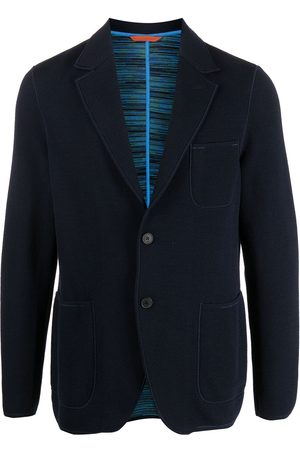 Missoni Knitted single-breasted blazer