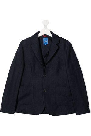 Fay Kids TEEN tailored linen blazer