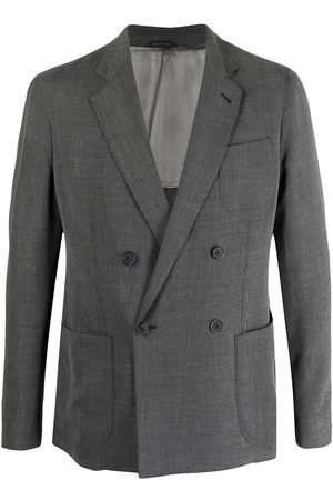 Giorgio Armani Double-breasted tailored blazer