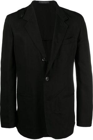 Yohji Yamamoto Notched-lapel single-breasted jacket