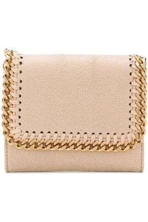 Stella McCartney Small Falabella wallet - Neutrals