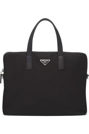 Prada Men Laptop & Business Bags - Triangle-logo briefcase