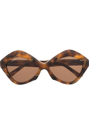 Balenciaga Eyewear Oversized-frame sunglasses