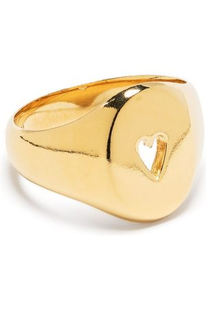 Wouters & Hendrix Cut-out heart signet ring