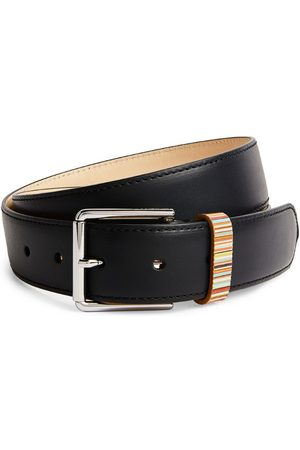 Paul Smith Leather Signature Stripe Belt