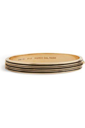 Marco Dal Maso Men Bracelets - Plated Acies Cuff Bracelet