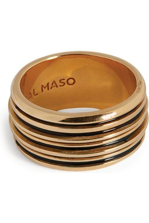 Marco Dal Maso Men Rings - Yellow -Plated Acies Ring