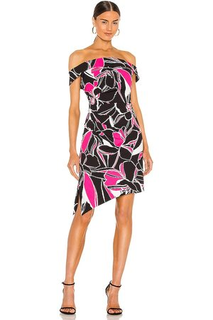 Milly Women Printed Dresses - Ally Stencil Floral Dress in . Size 4, 2, 6, 8.