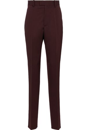 Bottega Veneta High-rise slim wool pants