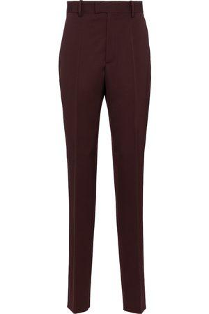 Bottega Veneta High-rise slim wool pants