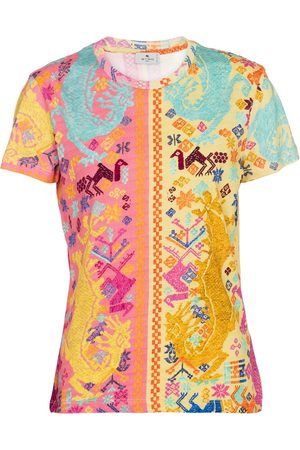 Etro Printed cotton T-shirt
