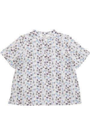 Bonpoint Cesar floral cotton shirt