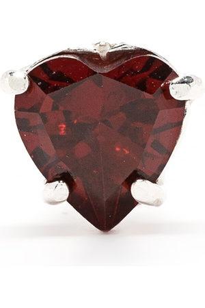 Wouters & Hendrix Garnet heart stud earrings